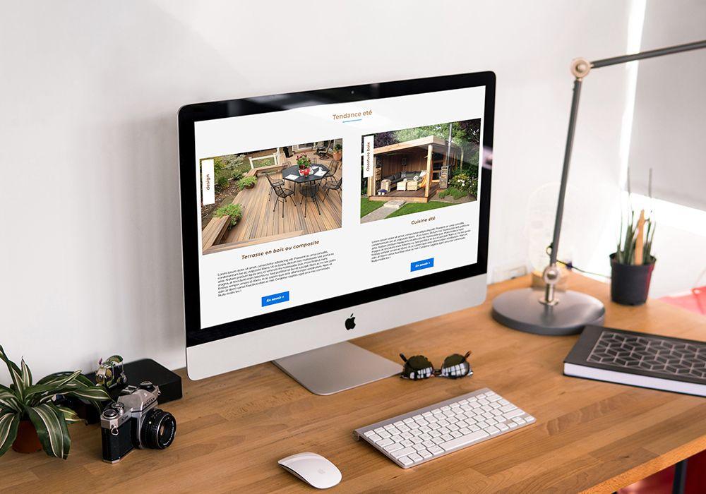 design exclusif création site web nantes