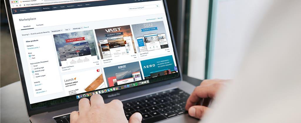 template-site-internet