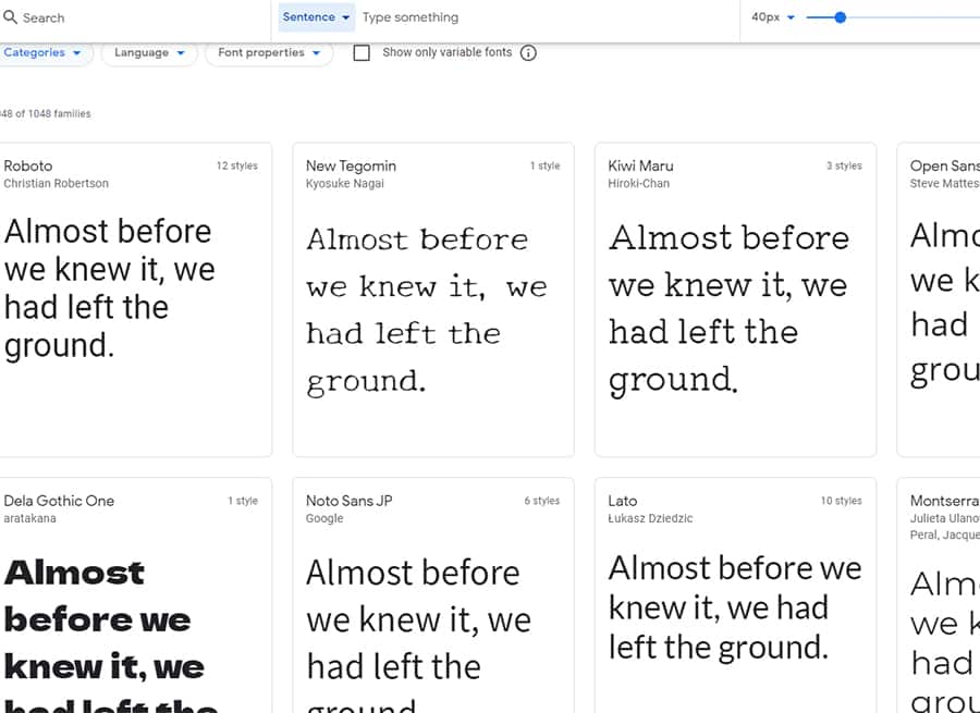 typographie-google-fonts-maquette-site-web
